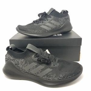 Adidas Mens Size 10.5 PureBounce Black Grey